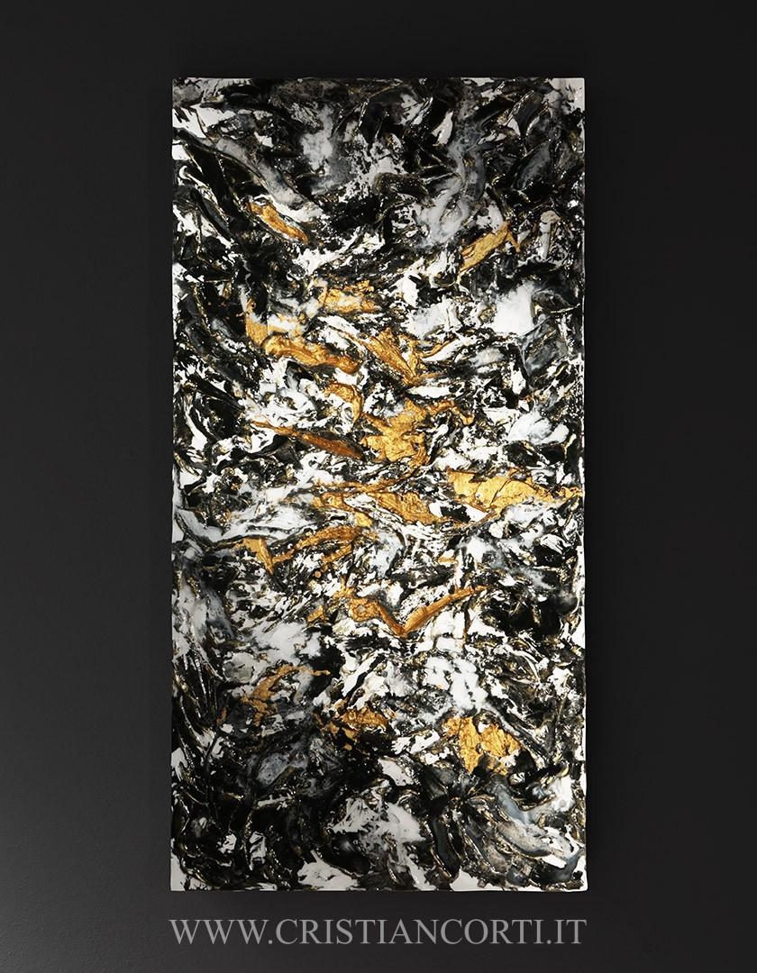 Quadri moderni materici di design in rilievo by Cristian Corti