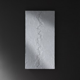 quadro bianco di design materico